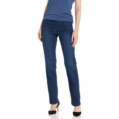 Pull ON Marilyn Straight Leg Jeans