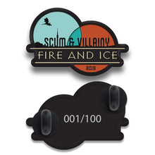 Load image into Gallery viewer, Fire & Ice Enamel Pin