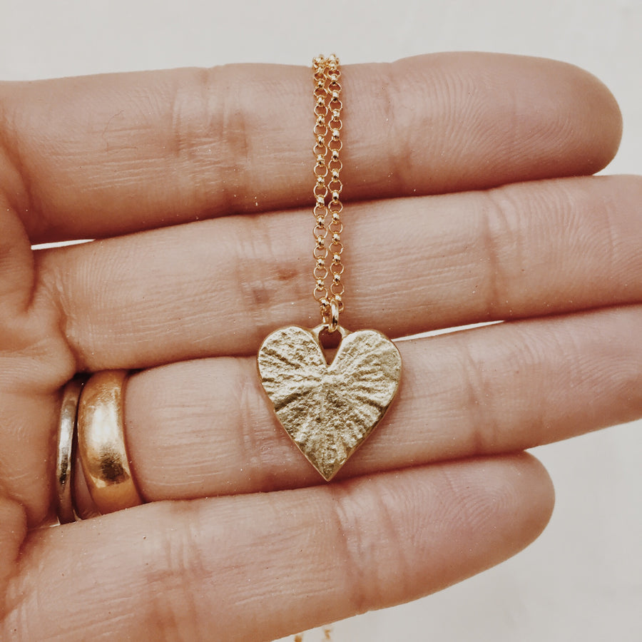 Wild Heart Necklace | Bronze
