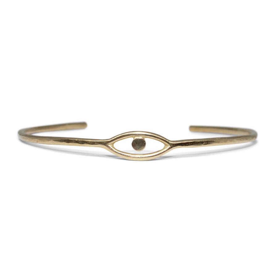 Cosmic Eye Cuff  |  Bronze