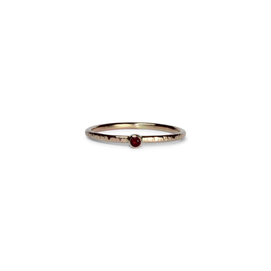 Birthstone Talisman Ring ~ July ~ Ruby