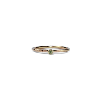 Birthstone Talisman Ring ~ August ~ Peridot