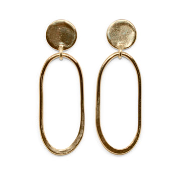 Georgia Earrings | Bronze