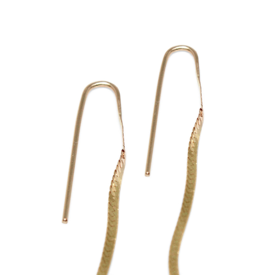 Liquid Earrings | Gold