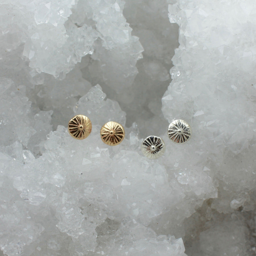 Day Studs | Silver
