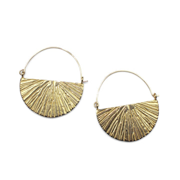 Sunrise Hoops | Bronze