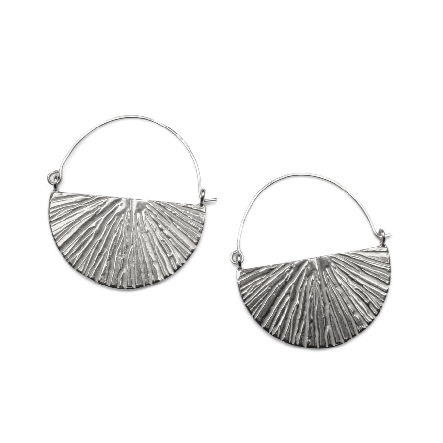 Sunrise Hoops | Silver