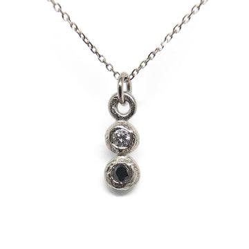 Gemini Necklace | Silver
