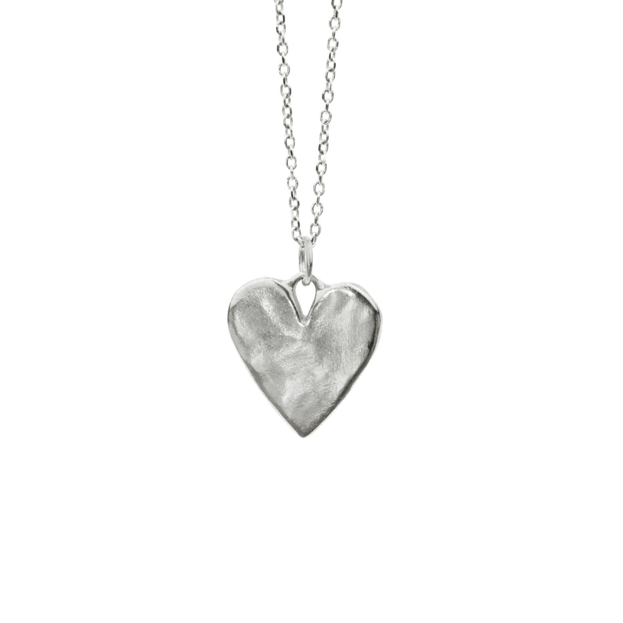 Sweet Heart Necklace | Silver