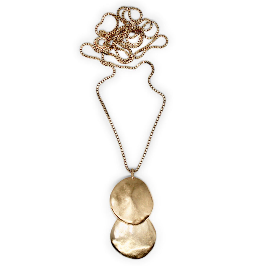 Terra Drop Necklace | Bronze