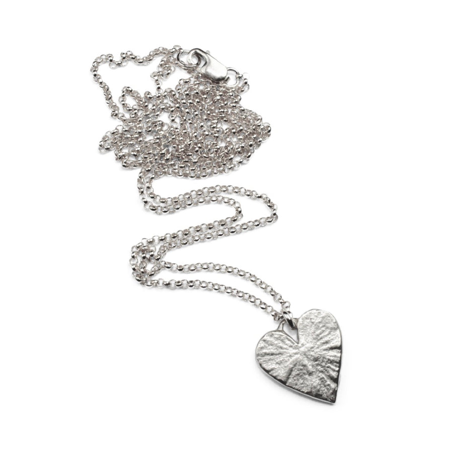 Wild Heart Necklace | Silver