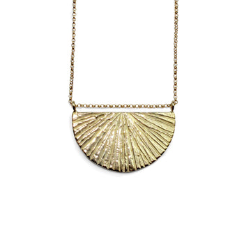Sunrise Necklace | Bronze