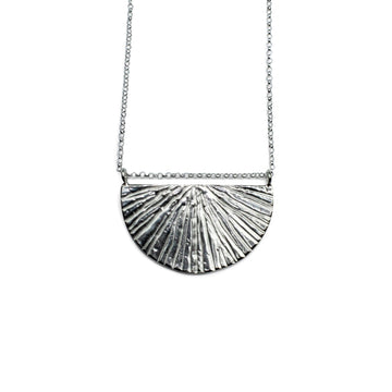 Sunrise Necklace | Silver
