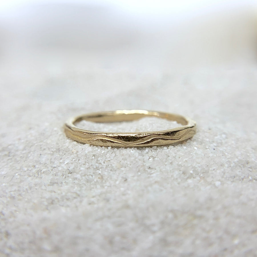 River Totem Ring | Gold