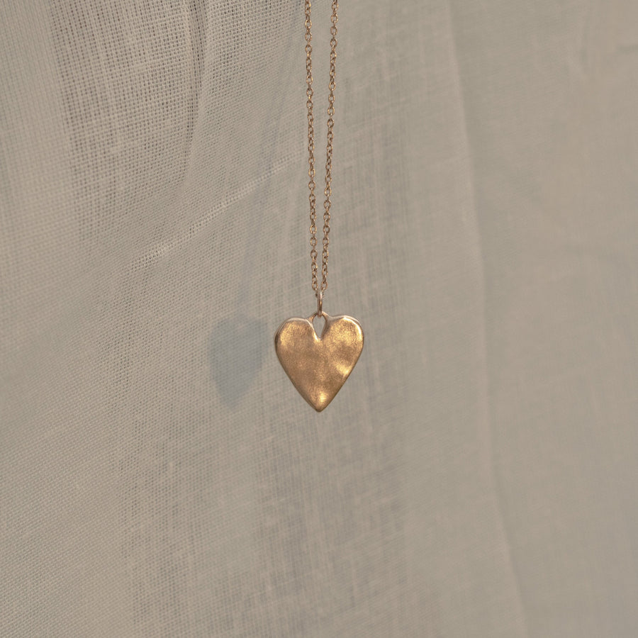 Sweet Heart Necklace | Gold