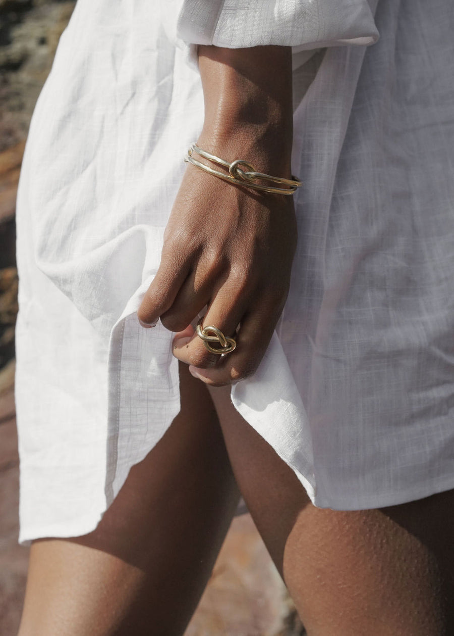 Nodo Ring | Gold