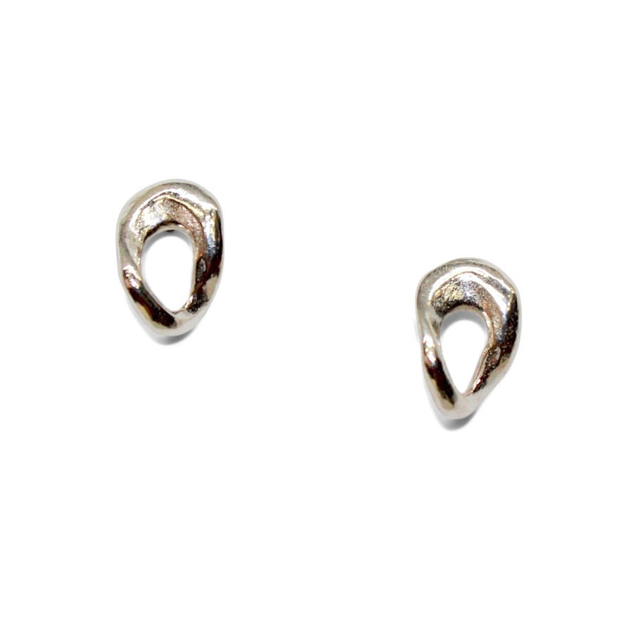 Flow Studs | Silver