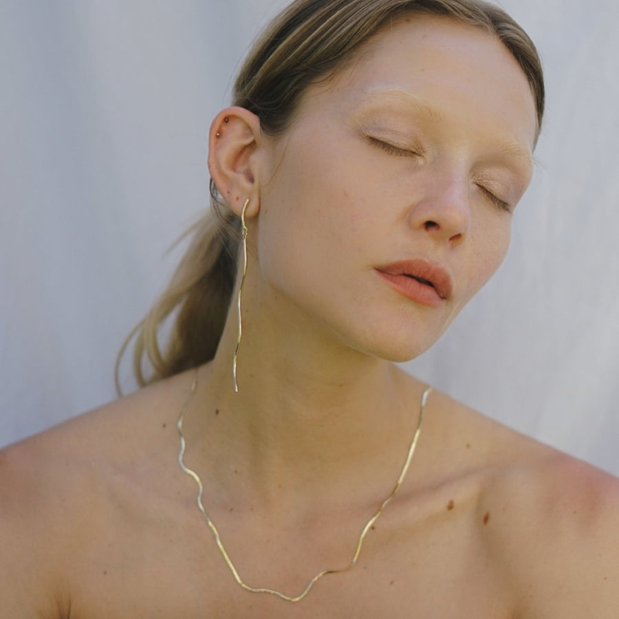 Liquid Necklace | Gold