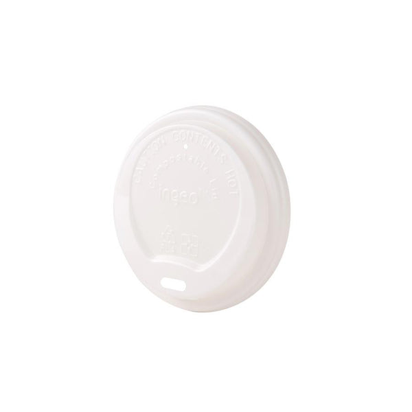 "Bio coffee cup lids (CPLA) 3 1/8"" (1000 pcs.) - Naturally Chic"
