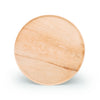 "Round palm leaf serving trays, 13"" (100  pcs.) - Naturally Chic"