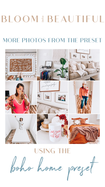 The Boho Home Preset