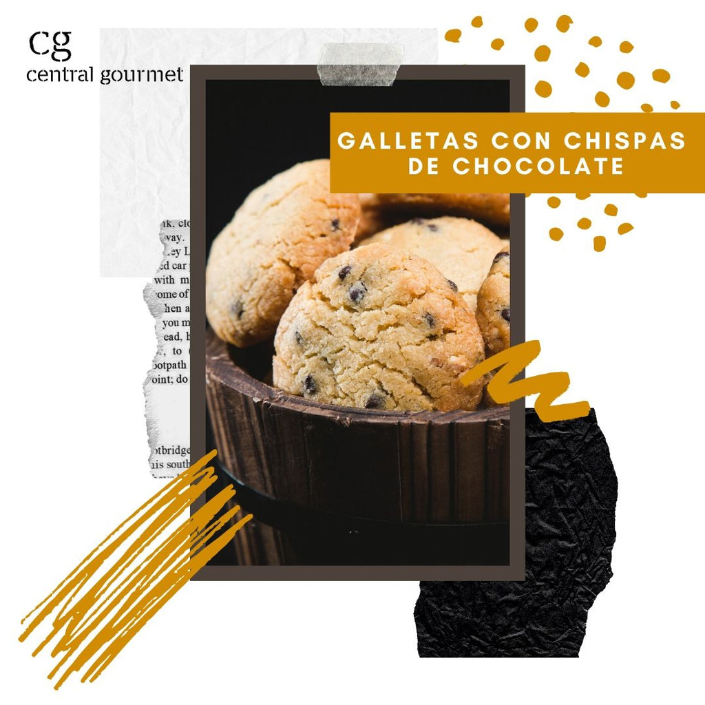 Galletas con Chispas de Chocolates