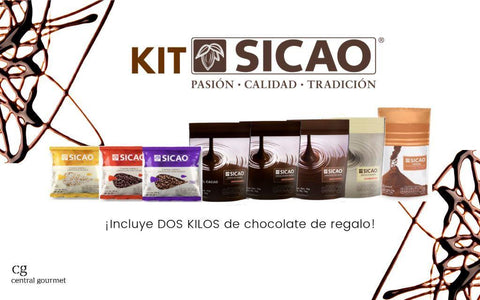 Kit de chocolates Sicao en Central Gourmet