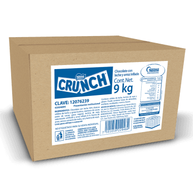 CHOCOLATE NESTLE CRUNCH TROZOS 9kg