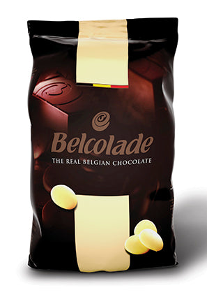 Chocolate Blanco Belcolade Selection Blanc