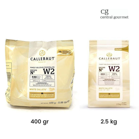 Chocolate blanco belga 28% de cacao W2 - EXCLUSIVO Promoción Barry Callebaut