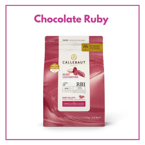 Chocolate Ruby RB1 - EXCLUSIVO Promoción Barry Callebaut