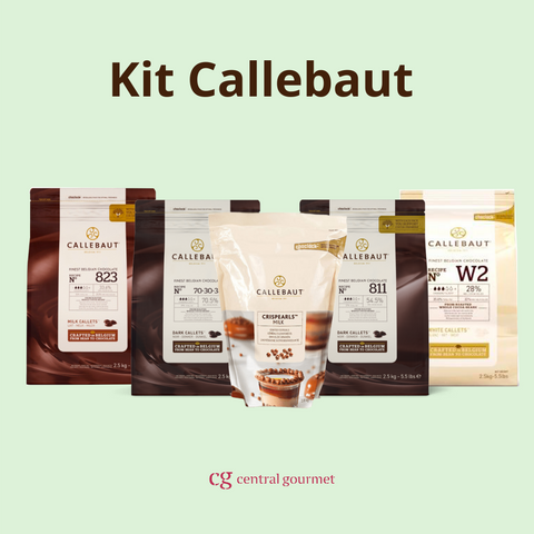 Kit de chocolate Callebaut
