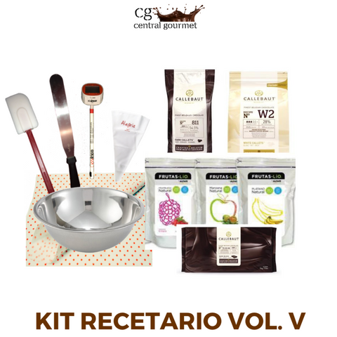 Kit recetario volumen v