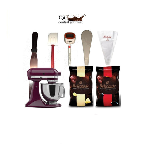 Kit recetario volumen 4 con batidora Kitchen Aid