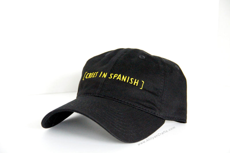Cries in Spanish Dad Hat