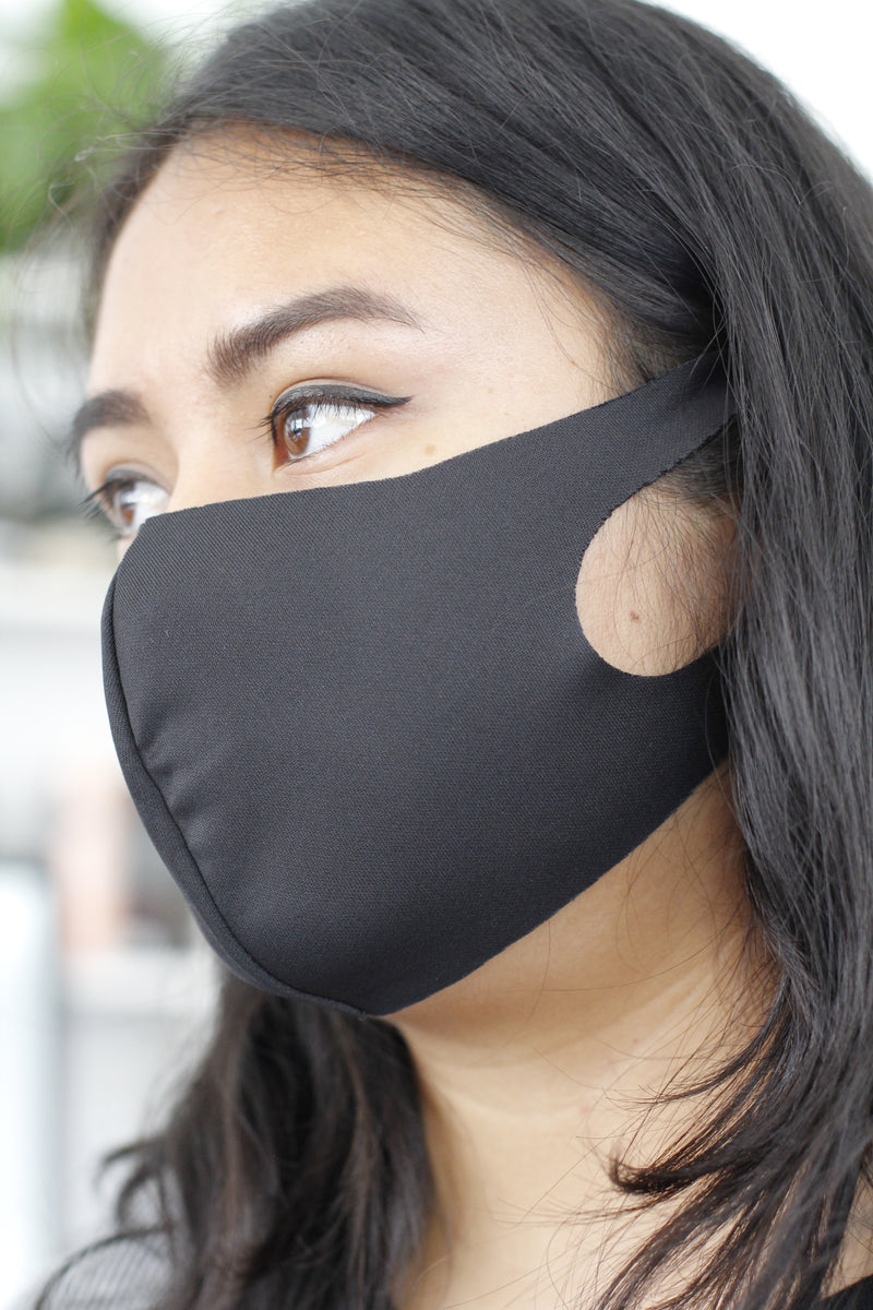 Adult Blank Non Elastic Face Masks