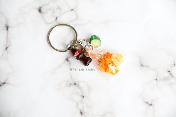 Chicharrones Keychain