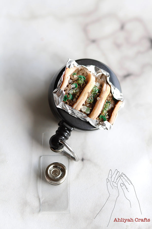 "Tacos ""Con Todo"" Badge Reel (NO CHARM)"