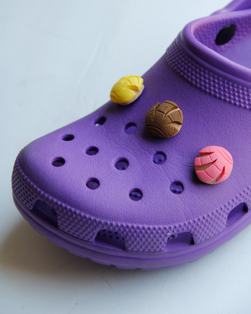 Handmade Concha Charm for Shoes