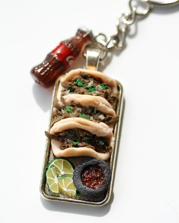 Medium Taco Keychain