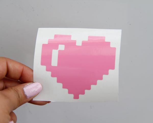 Pixel Heart Decal