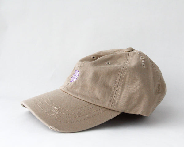 Mermaid Seashell Dad Hat
