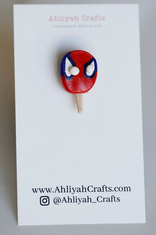 Spider Dude Paleta Pin