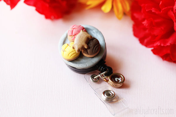 Sweeter Than Pan Dulce Badge Reel - AhliyahCrafts