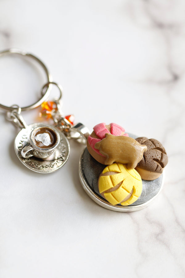 Sweeter Than Pan Dulce Tray Keychain - AhliyahCrafts