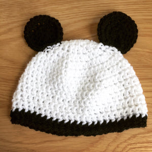 Winter Panda Hat