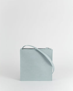 Celeste Blue Leather Bag