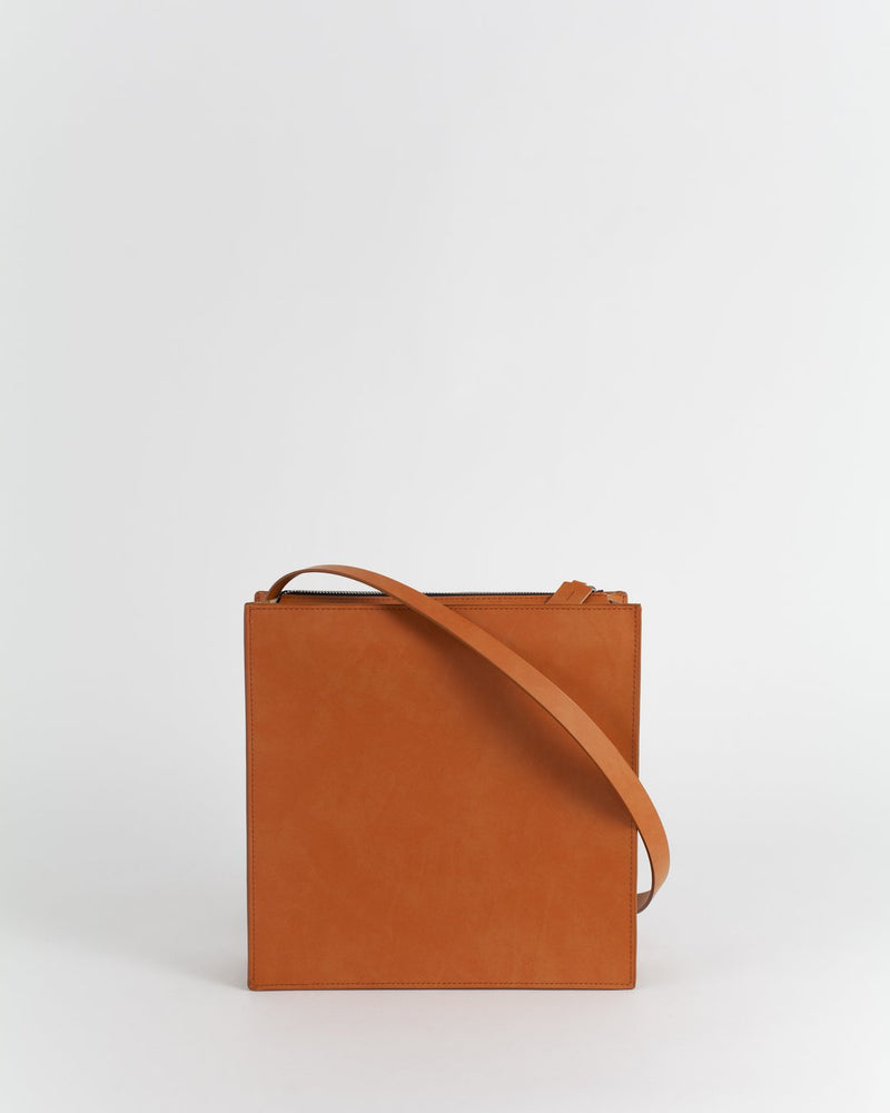 Teja Leather Bag - Tile Leather Bag