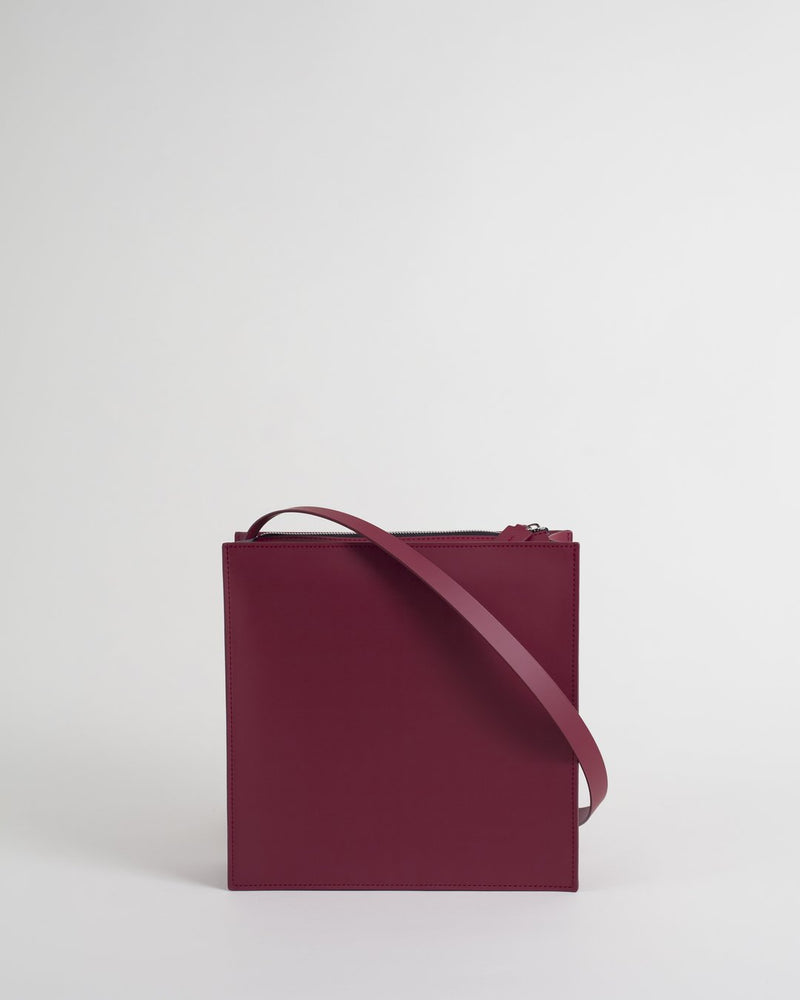 Redwined Leather Bag