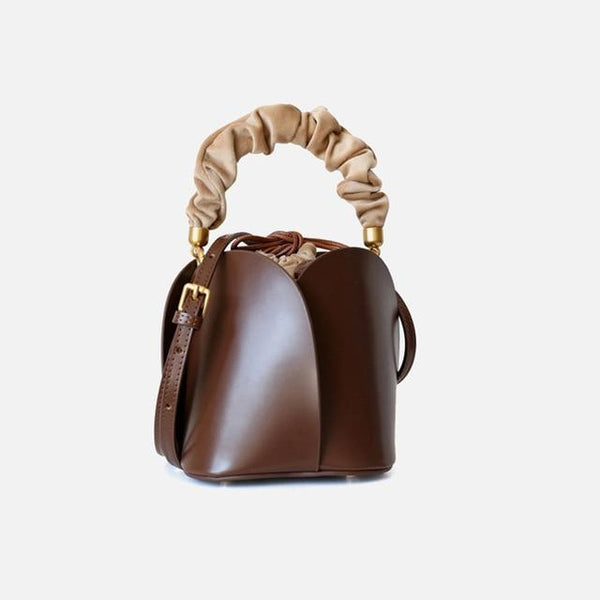 Vaidoza - Elsa Flower Bucket Brown